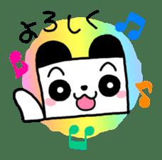 COLORFUL  PANDA sticker #472107
