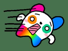 COLORFUL  PANDA sticker #472108