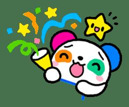 COLORFUL  PANDA sticker #472110