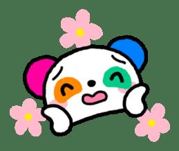 COLORFUL  PANDA sticker #472112