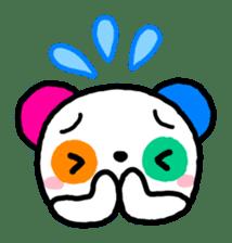 COLORFUL  PANDA sticker #472113