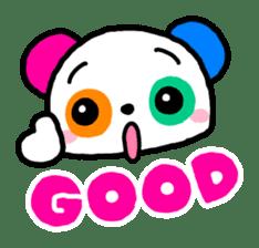 COLORFUL  PANDA sticker #472115