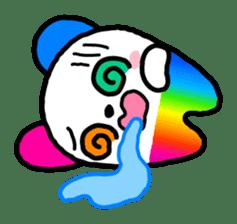 COLORFUL  PANDA sticker #472118