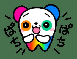 COLORFUL  PANDA sticker #472120
