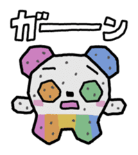 COLORFUL  PANDA sticker #472121