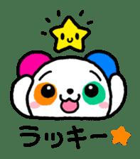 COLORFUL  PANDA sticker #472123