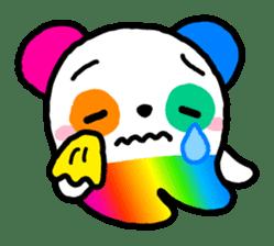 COLORFUL  PANDA sticker #472124