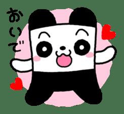 COLORFUL  PANDA sticker #472127