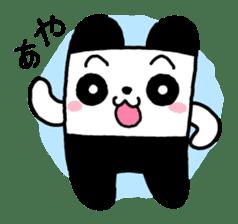 COLORFUL  PANDA sticker #472128