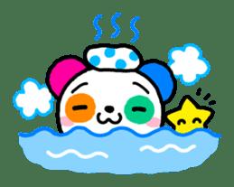 COLORFUL  PANDA sticker #472133