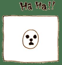 PTANPOP little monster sticker #472619