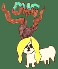 PTANPOP little monster sticker #472637