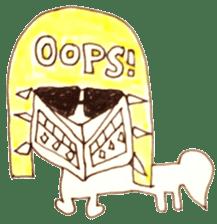PTANPOP little monster sticker #472638