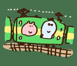 Monya and Uyu goma sticker #473414