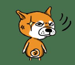 Shiba Dog PanPan's normal life sticker #474056