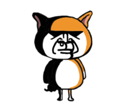 Shiba Dog PanPan's normal life sticker #474060