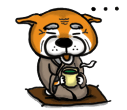 Shiba Dog PanPan's normal life sticker #474065