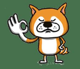 Shiba Dog PanPan's normal life sticker #474076