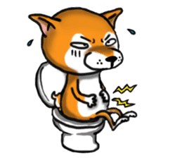 Shiba Dog PanPan's normal life sticker #474079
