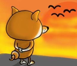 Shiba Dog PanPan's normal life sticker #474090