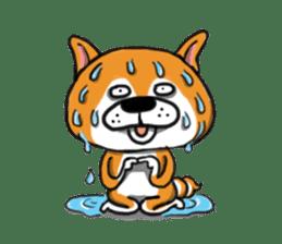 Shiba Dog PanPan's normal life sticker #474091
