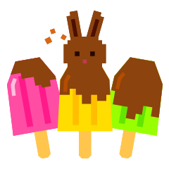 Chocolate Bunny Pulpy Summer