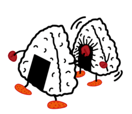kimoi-onigiri sticker #474796
