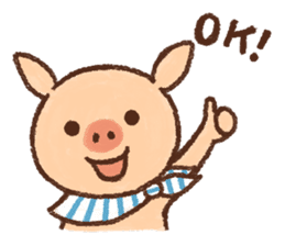 ANTON the piglet sticker #474855