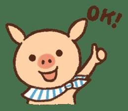 ANTON the piglet sticker #474855