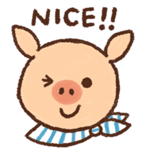 ANTON the piglet sticker #474856