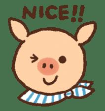 ANTON the piglet sticker #474856