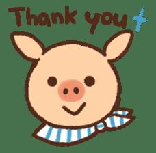 ANTON the piglet sticker #474858