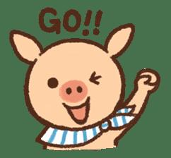 ANTON the piglet sticker #474859
