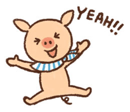 ANTON the piglet sticker #474860