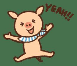 ANTON the piglet sticker #474860