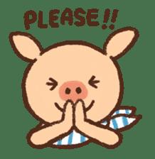 ANTON the piglet sticker #474861