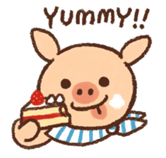 ANTON the piglet sticker #474862