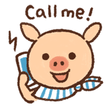 ANTON the piglet sticker #474863