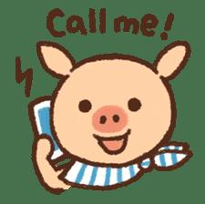 ANTON the piglet sticker #474863