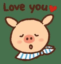ANTON the piglet sticker #474865