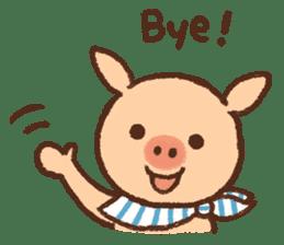 ANTON the piglet sticker #474866