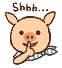 ANTON the piglet sticker #474867
