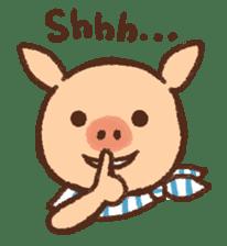 ANTON the piglet sticker #474867