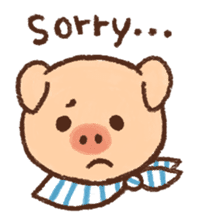 ANTON the piglet sticker #474868