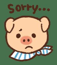 ANTON the piglet sticker #474868