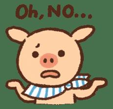 ANTON the piglet sticker #474869