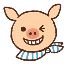 ANTON the piglet sticker #474871