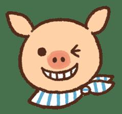 ANTON the piglet sticker #474871