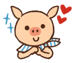ANTON the piglet sticker #474872