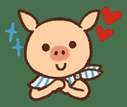 ANTON the piglet sticker #474872